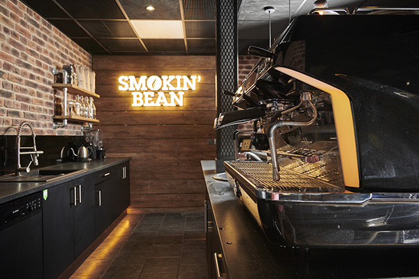 Cafe smokin bean